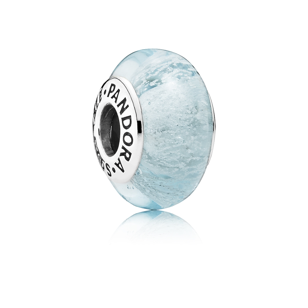 Pandora Disney Elsa's Signature Color Charm, Murano Glass 791644