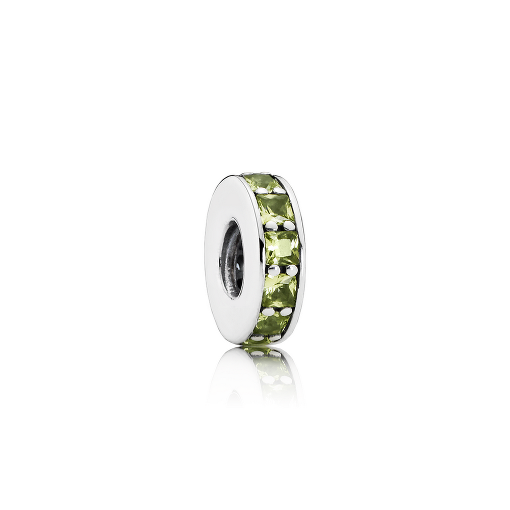Eternity Spacer, Olive Green Crystal 791724NLG
